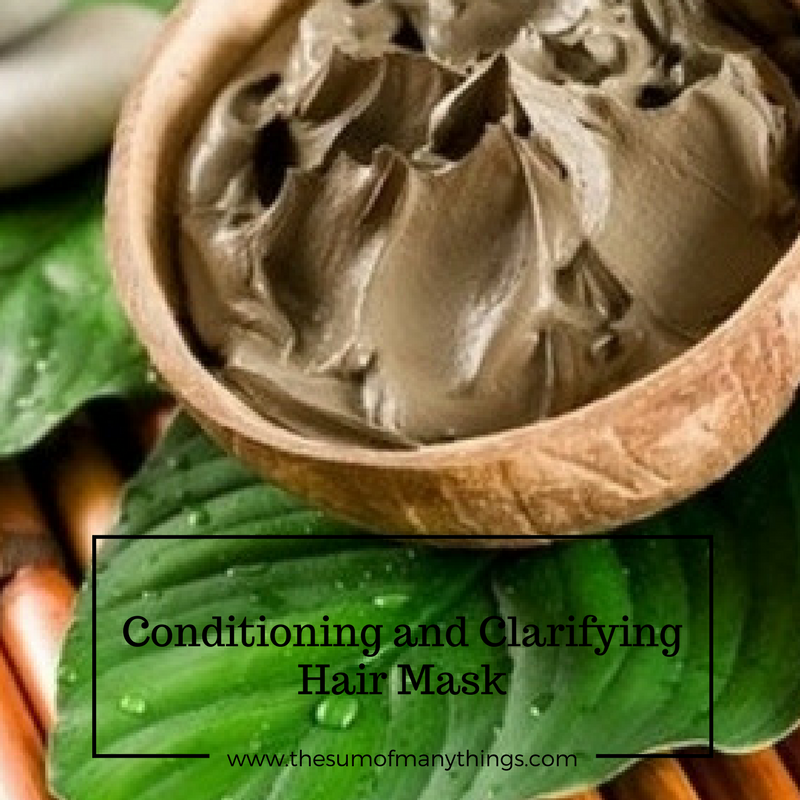 CLICK HERE FOR MY FAVORITE CONDITIONING AND CLARIFYING HAIR MASK!