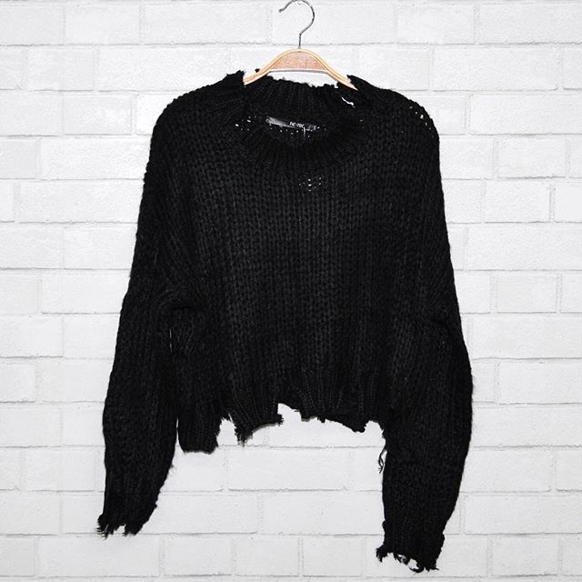 Rustic Ruse ✖️✖️✖️ Top: Chewed Out Knit Sweater