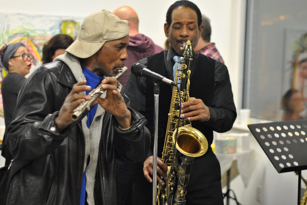 A jazz performance at The KIND Institute