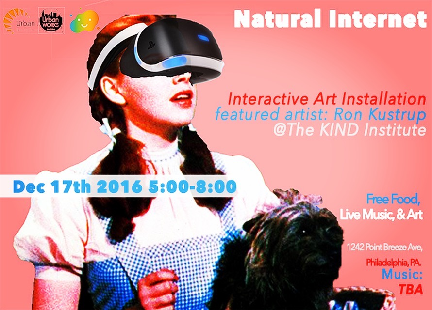 Join us for  Natural Internet  presented by  Ron Kustrup