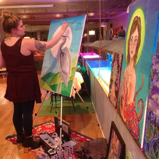 Beginner Painting Class for Adults at The KIND Institute