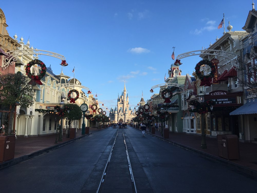 Main Street before open