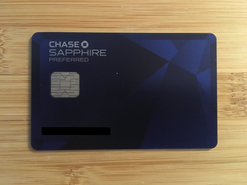 The Chase Sapphire Preffered is a great card to keep in your wallet after executing this hack.