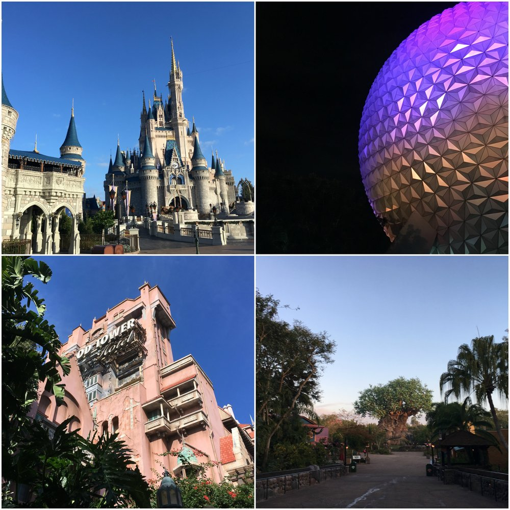 Visit all four parks with a 4-Park Magic Ticket!
