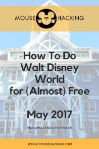 How to Do Walt Disney World for Almost Free! Pin it!