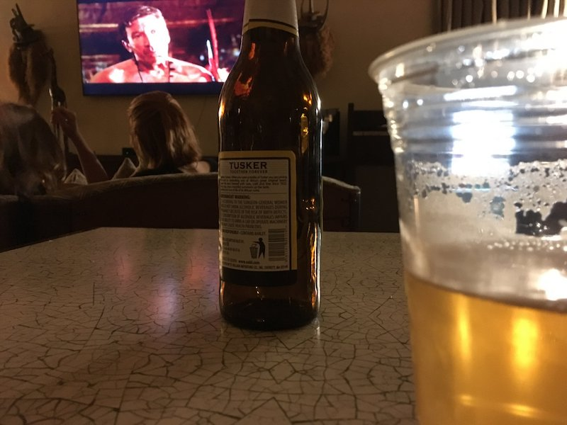 Yes,That is Tim Allen -Jungle 2 Jungle and a Tusker Ale