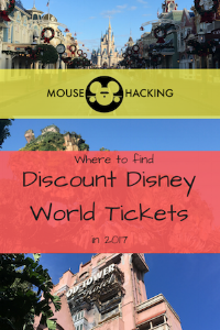 Where to find Discount Disney World tickets in 2017! Pin it!