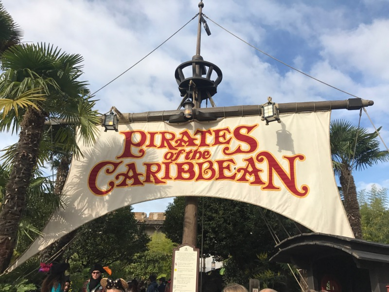 Pirates of the Caribbean was one of our favorite Disneyland Paris rides.