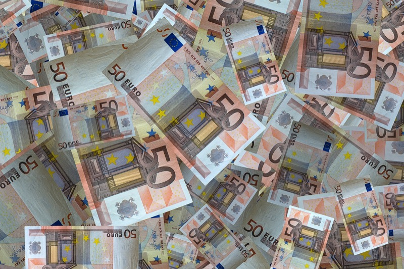 If you really want to make it rain, talk to your bank before leaving and see about ordering Euros.
