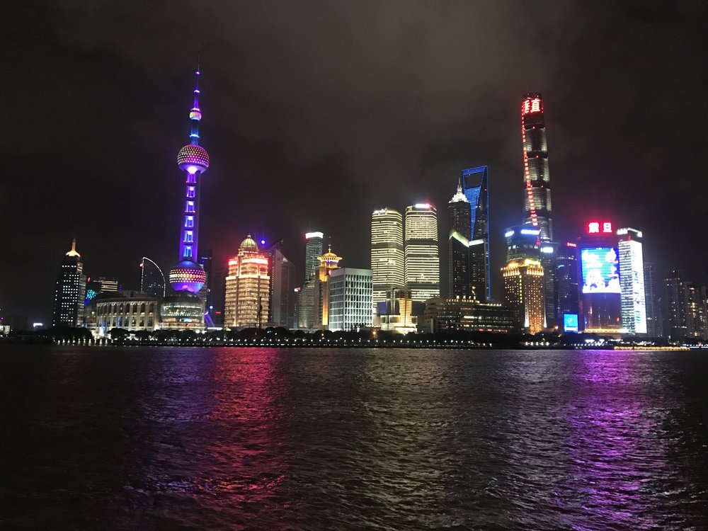 Take some time to check out the beautiful Shanghai skyline!