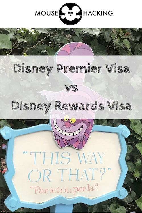 Which Disney Visa is better for you? Pin it!