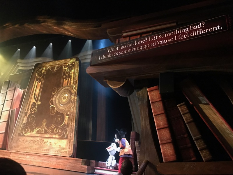 Mickey and the Wondrous Book was a great show, with English subtitles!