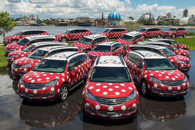 Are you planning to use Minnie Vans to get around? (Photo: Disney)