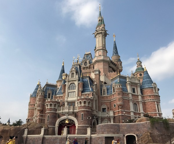 Shanghai Disneyland's Storybook Castle is the largest Disney castle!