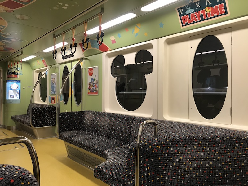 The Tokyo Disney Resort Line is the primary way to get around the resort.