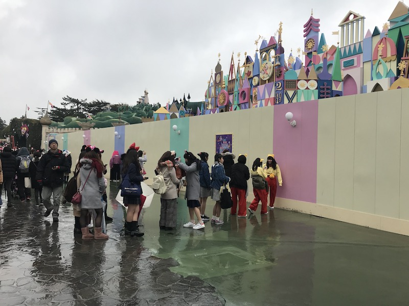 Wall photos are in at Tokyo Disneyland.