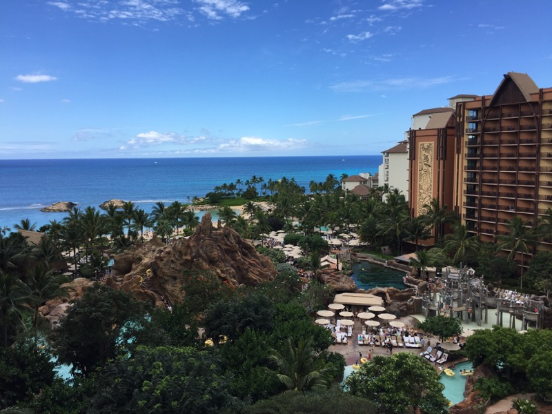 Our ocean view was spectacular!