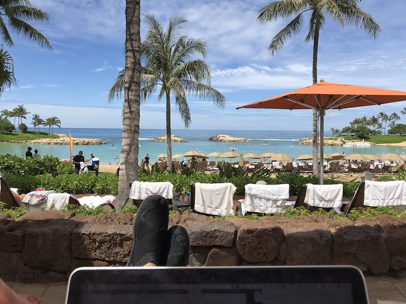 Lounging around at Aulani sure is beautiful, but it's a lot of $$$ just for time spent in a beach chair!