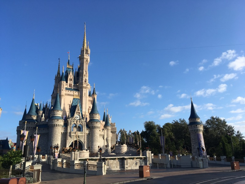 This is in Magic Kingdom, one of the four parks at Walt Disney World.