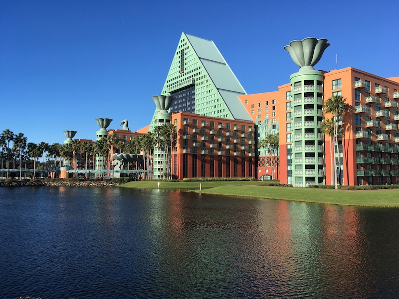 The Walt Disney World Dolphin is operated by Marriott, not Disney.