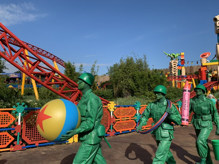 6e4a0f569b0b6 Hollywood Studios is in a rebuilding phase. Toy Story Land just opened on  June 30
