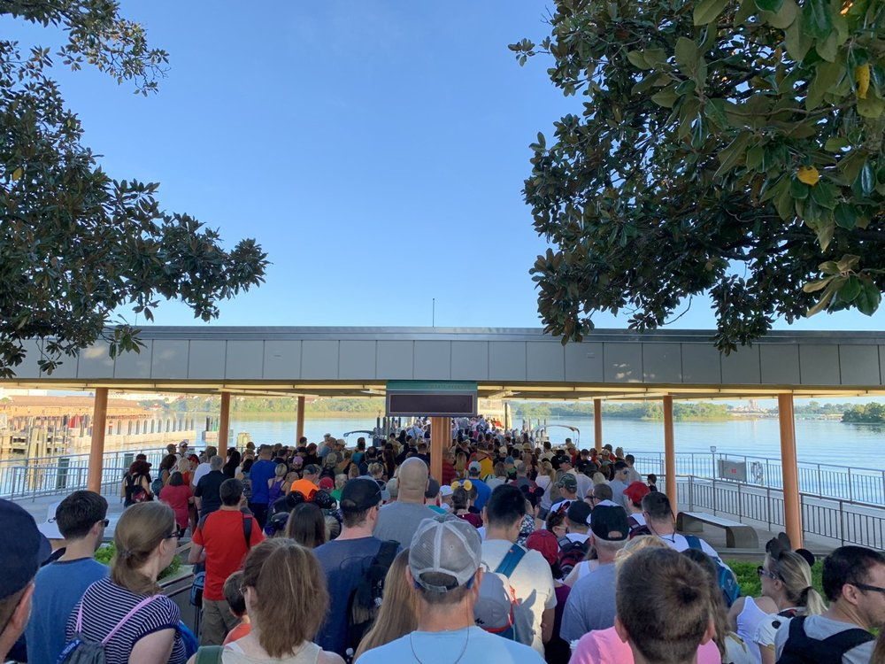 magic kingdom one day itinerary boat line.jpg