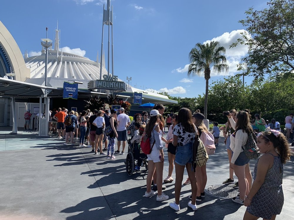 magic kingdom one day itinerary space mountain line.jpg