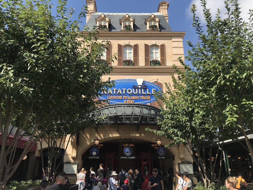 The Ratatouille ride in Walt Disney Studios Park, Disneyland Paris Resort