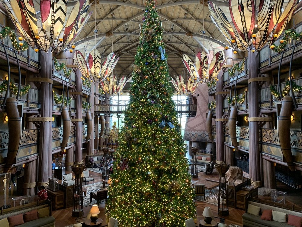 animal kingdom lodge christmas tree 1.jpeg