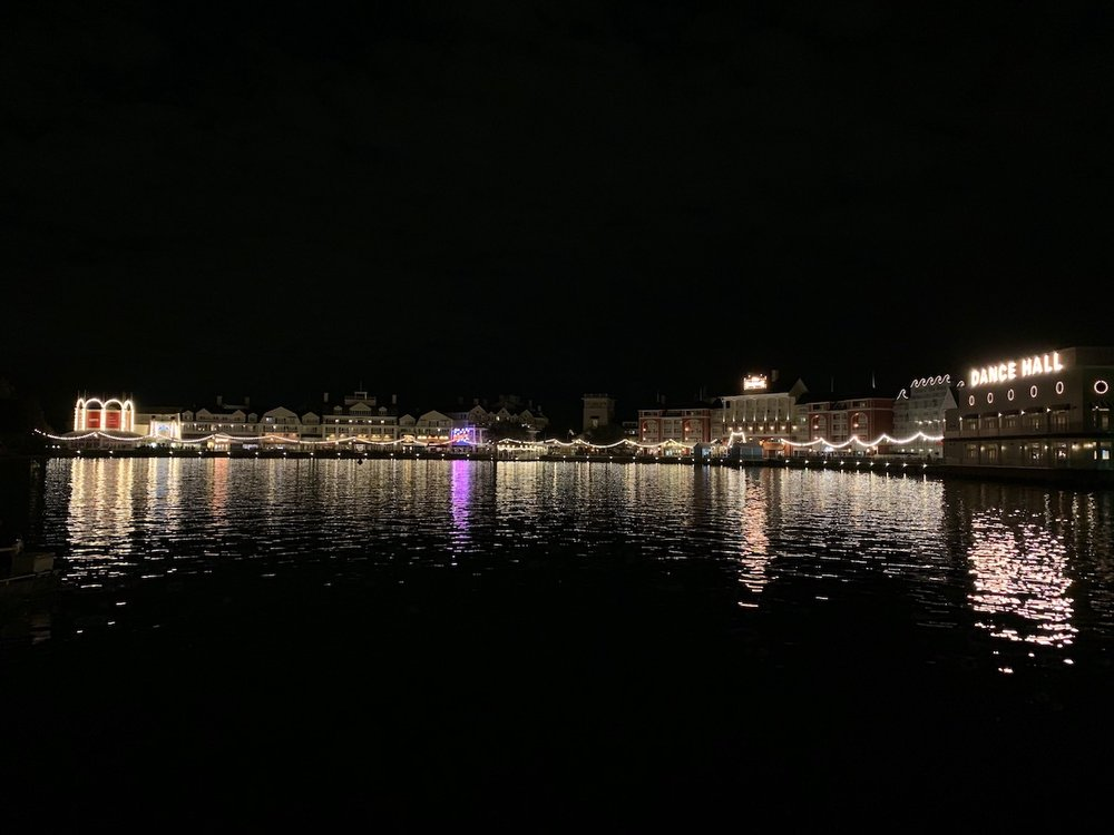 disney boardwalk review bw at night.jpeg