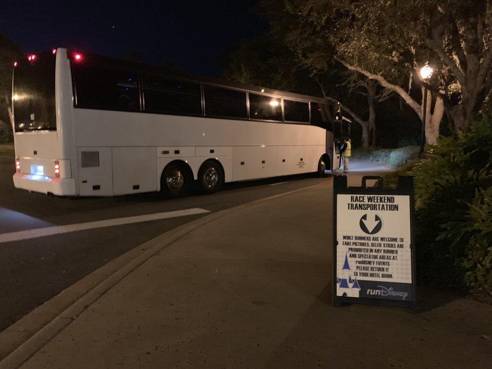 rundisney+disney+world+10k+bus