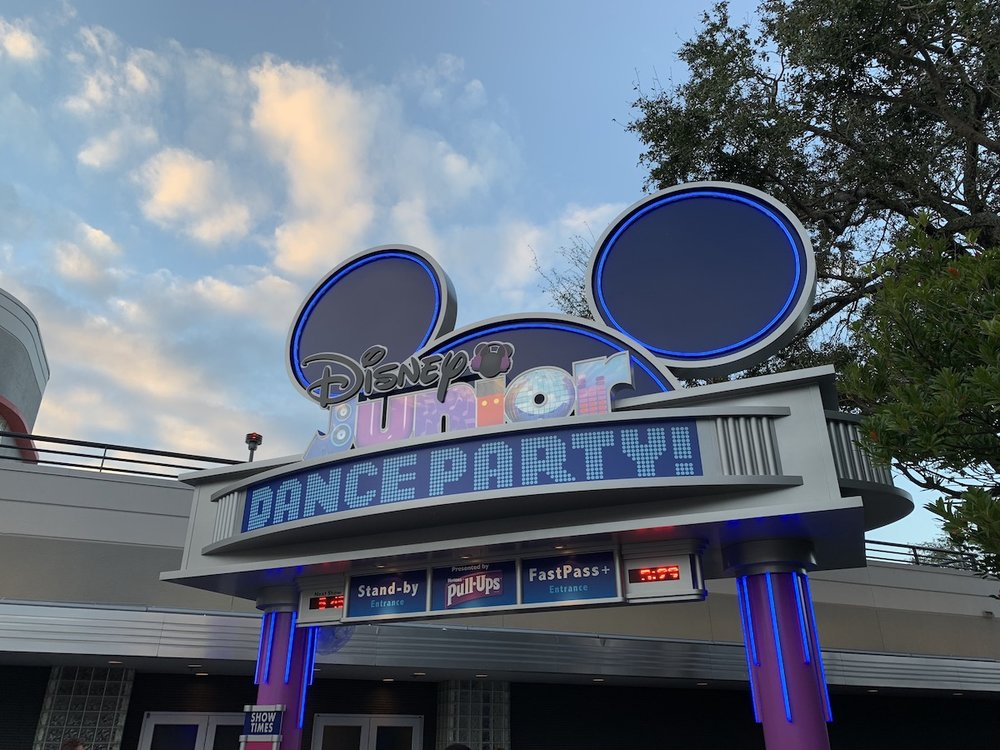 hollywood studios rides and attractions disney junior dance party.jpeg