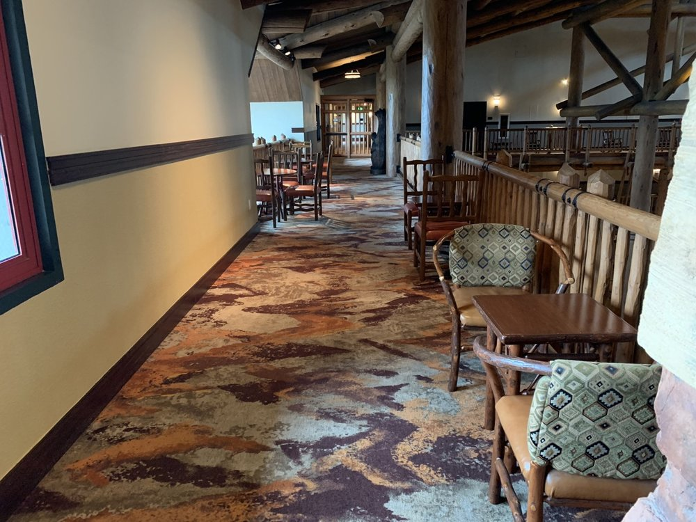 The Old Faithful Club Lounge spare seating.