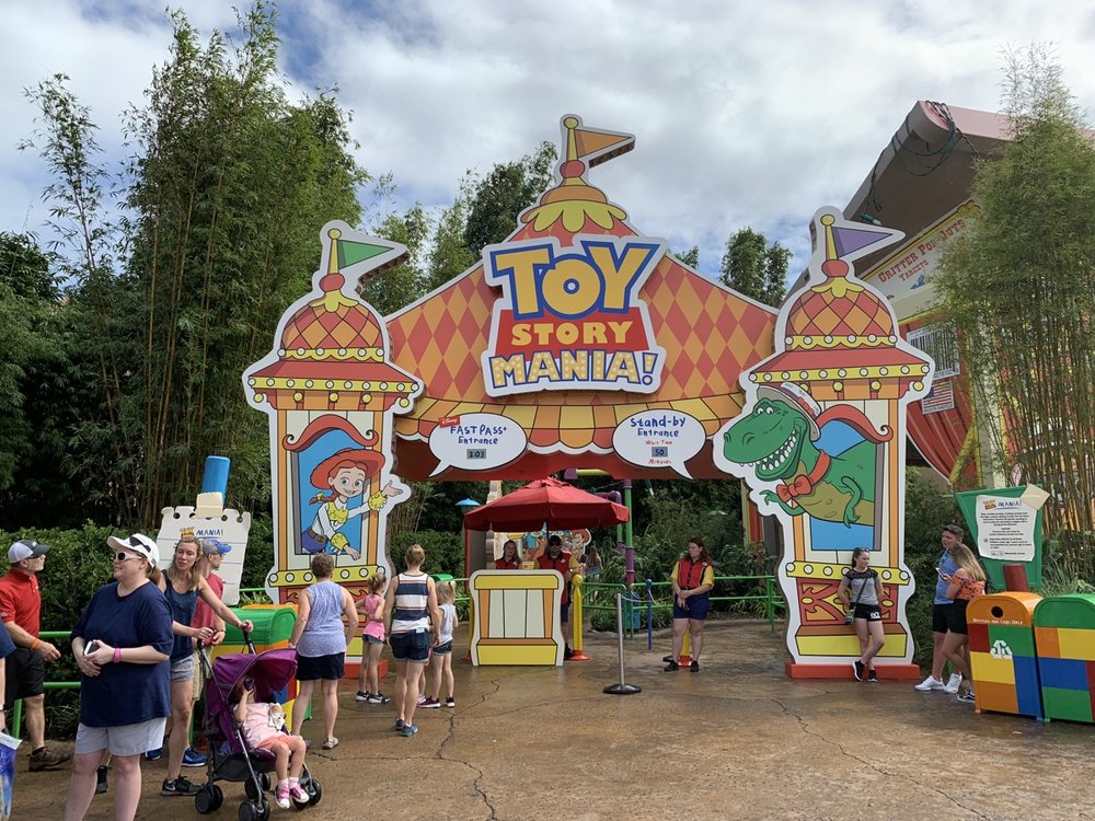 Toy Story Mania (picture not from this day)