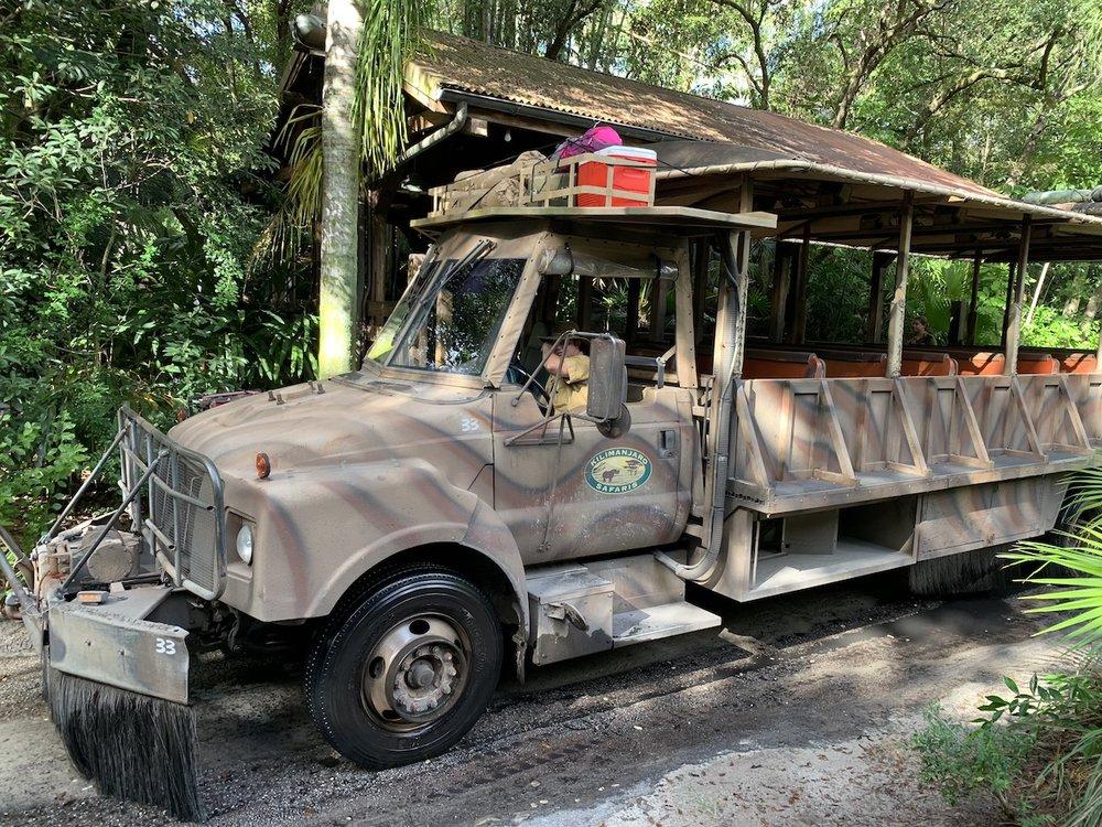 hollywood studios animal kingdom park hopping safari car.jpeg