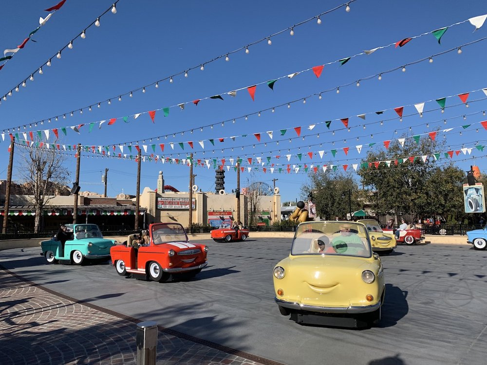 disney california adventure one day itinerary luigis roadsters.jpg