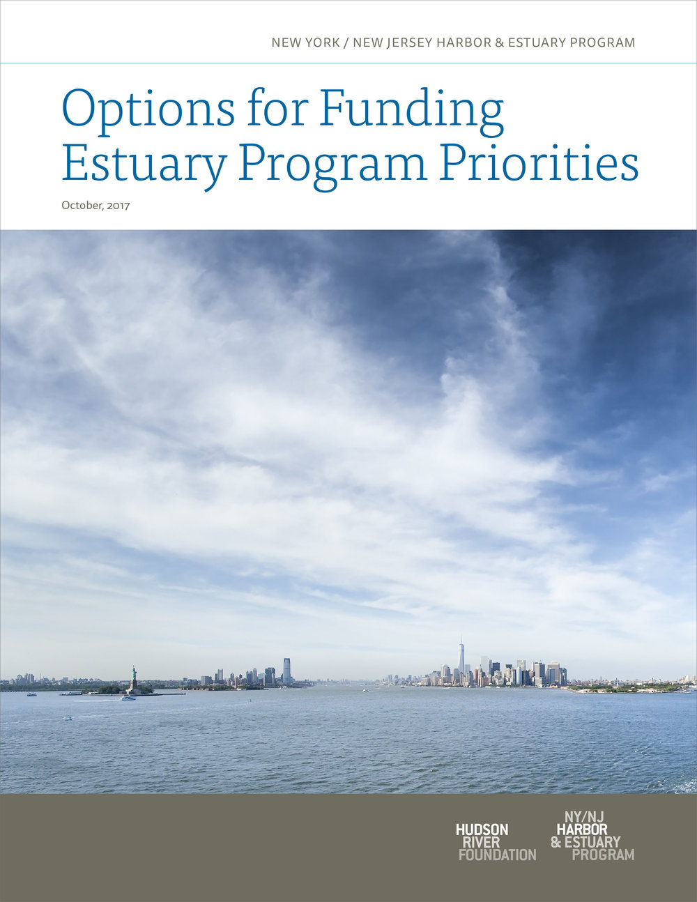 Options for Funding Estuary Program Priorities