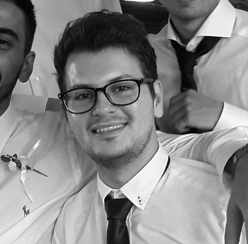 Ajdin Nakičević    Born:  Tuzla   Studying:  Elektrotehnički Fakultet Tuzla /   Faculty of Electrical Engineering Tuzla