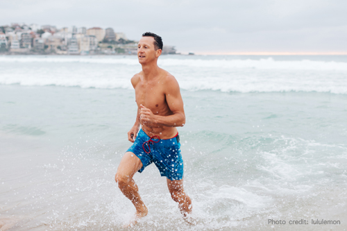 lululemon yoga with Deano - Loosen up with Bondi Rescue Lifeguard Dean Deano Gladstone Thursday mornings at 6am.Meet at lululemon Bondi Beach