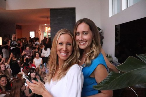 Founders of Socirty WE: Ellen Smoak (Left) and Lynan Saperstein (Right)