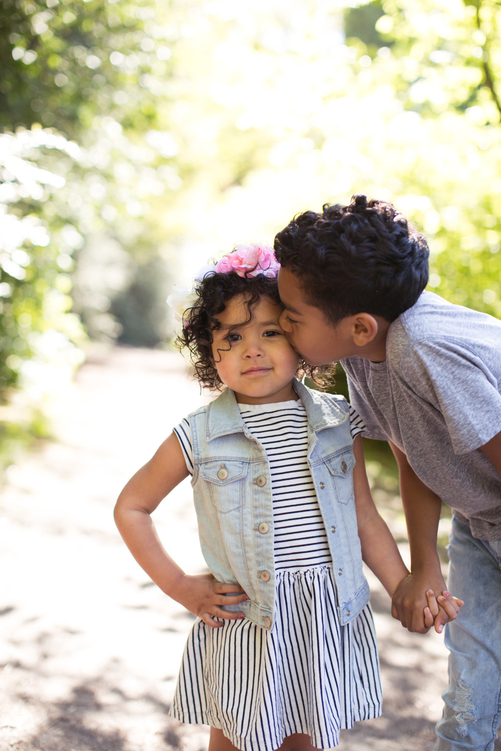 biracial kids, beautiful, portland photographer