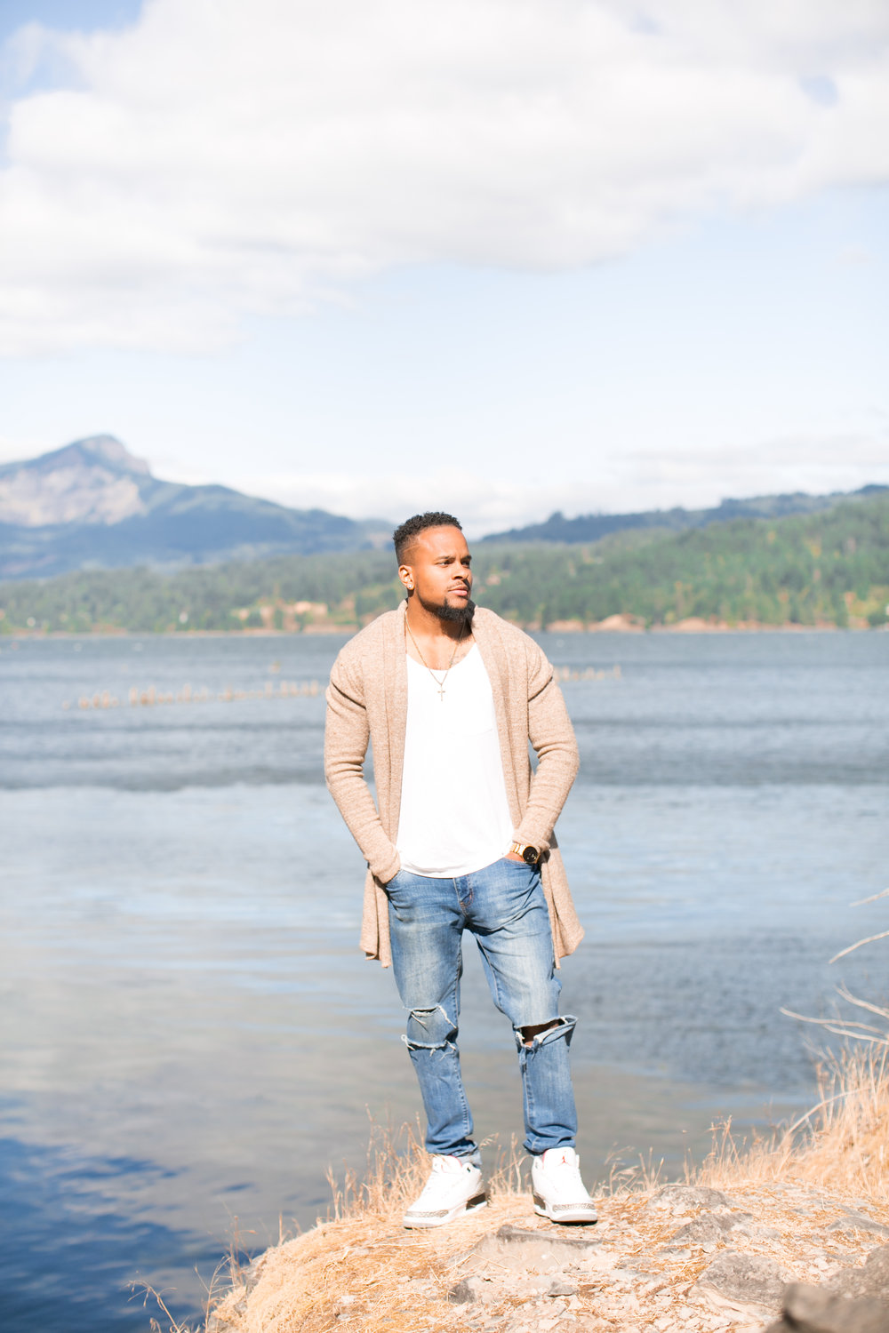 portland photographer, natalie brenner, male model, male fall fashion