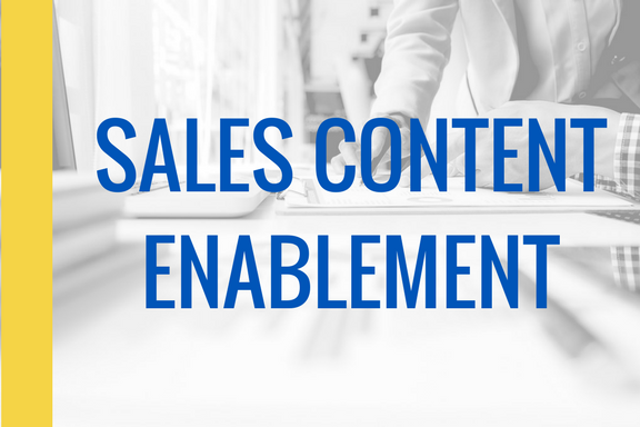 Sales Content Enablement