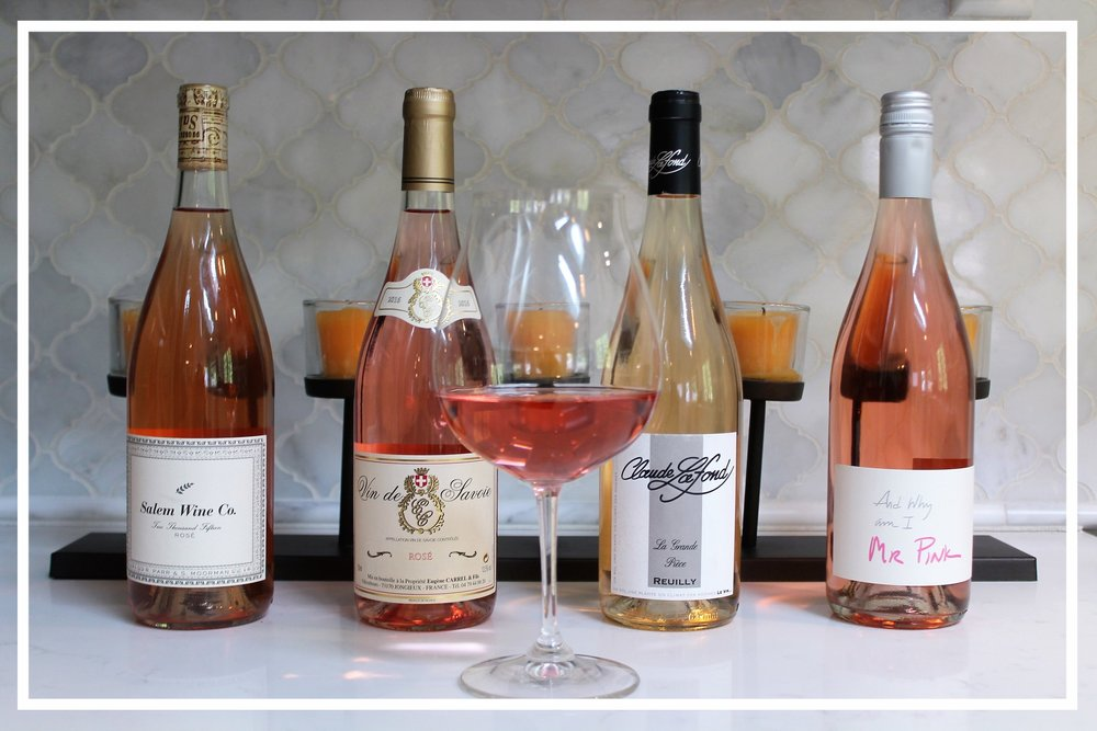 - Our rosés are hand selected by accredited wine professionals and Certified Sommeliers