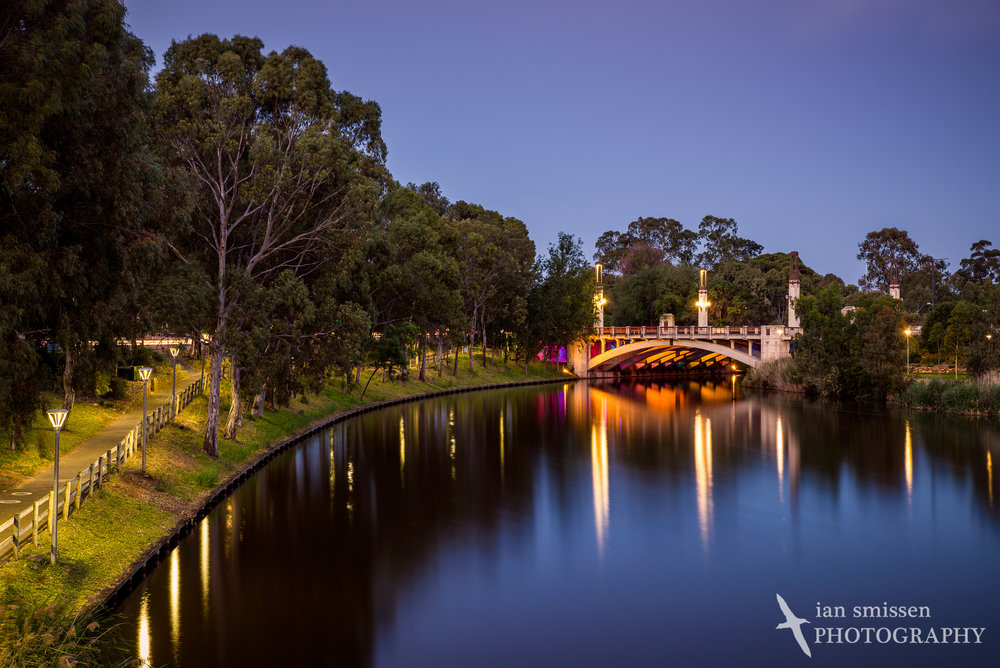 King William Road Bridge over Torrens River