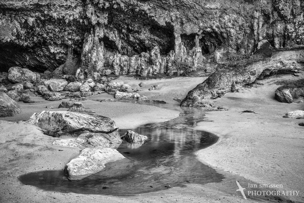 Limestone cave at Loch Ard Gorge