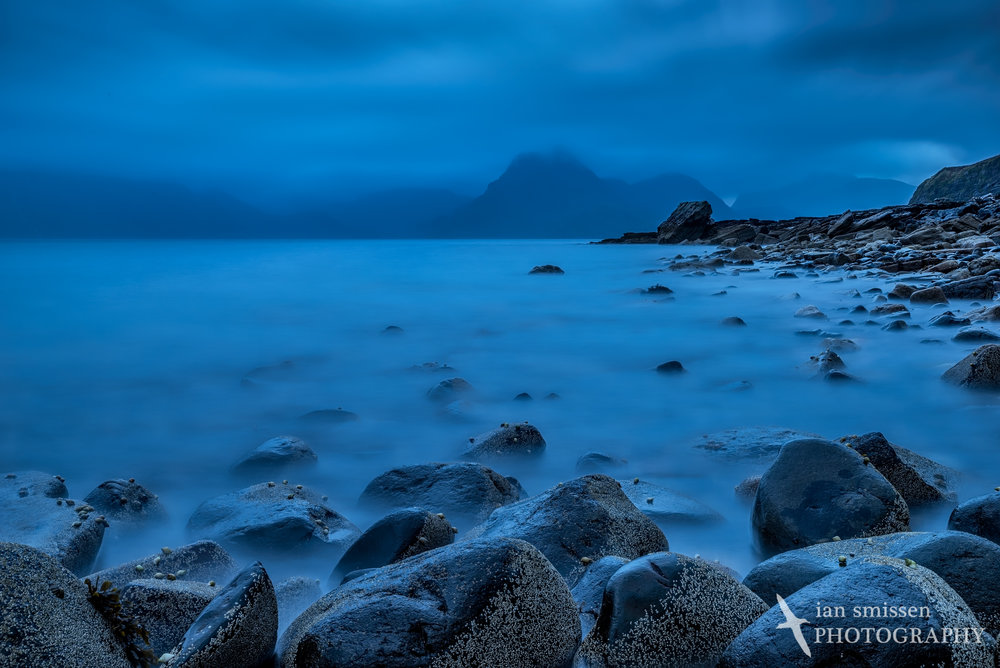 Early morning at Elgol Beach