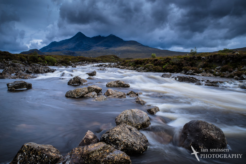 Sligachan River and the Black Cuillans