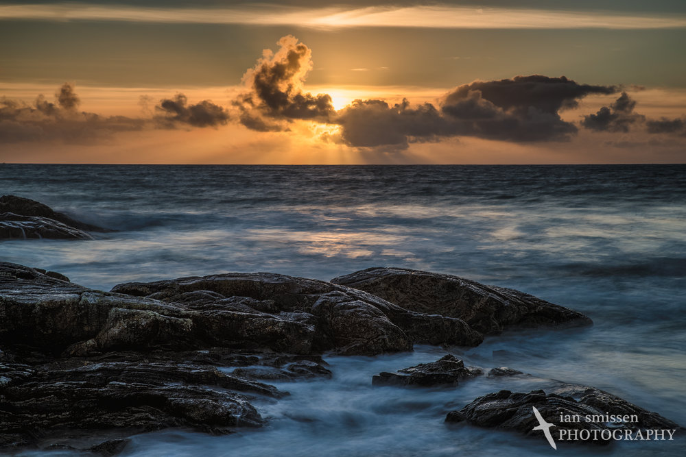 Sunset at Horgabost Beach