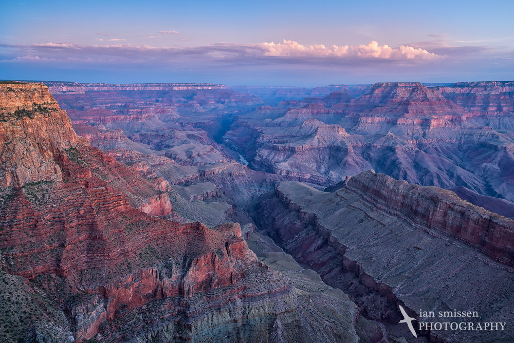 Early morning at Lipan Point, Grand Canyon